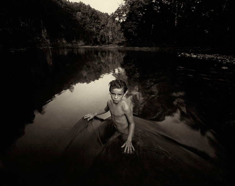 Sally Mann 'The Last Time Emmett Modeled Nude', 1987. Gelatin-silver contact print. 8 by 10 inches.