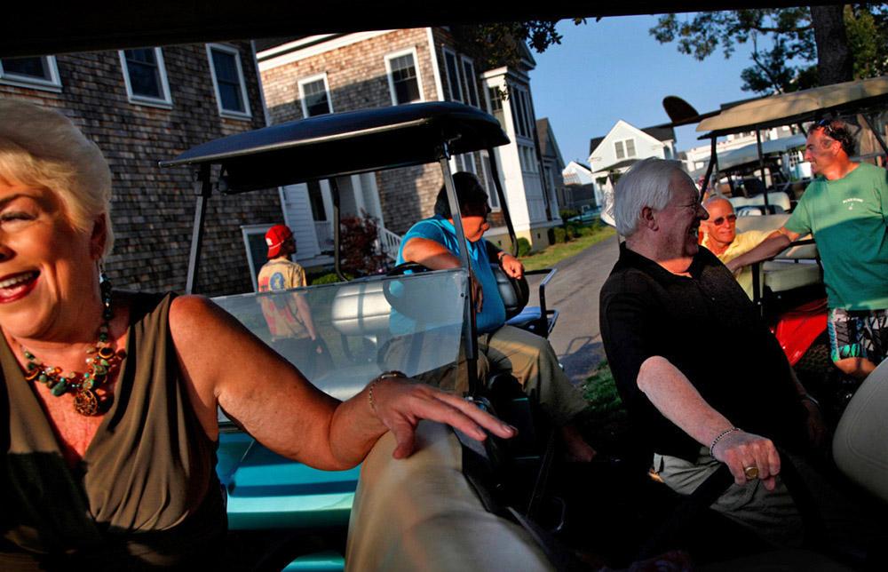 Golf cart social, 2009<p style=