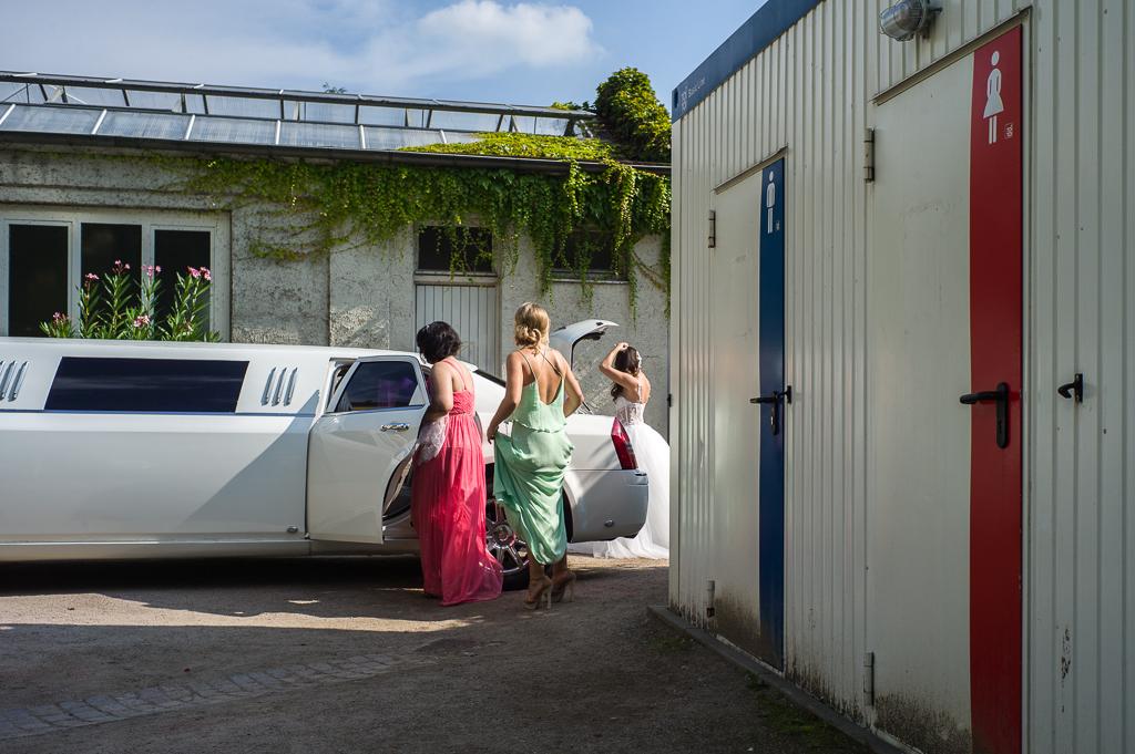 Hochzeit mit Stetch-Limousine in Frankfurt/Main