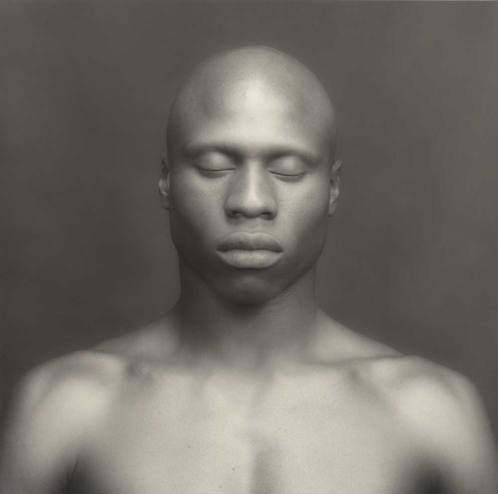 Ken Moody; Robert Mapplethorpe (American, 1946 - 1989); New York, New York, United States; 1983; Gelatin silver print; 38.5 x 38.7 cm (15 3/16 x 15 1/4 in.); 2011.7.16