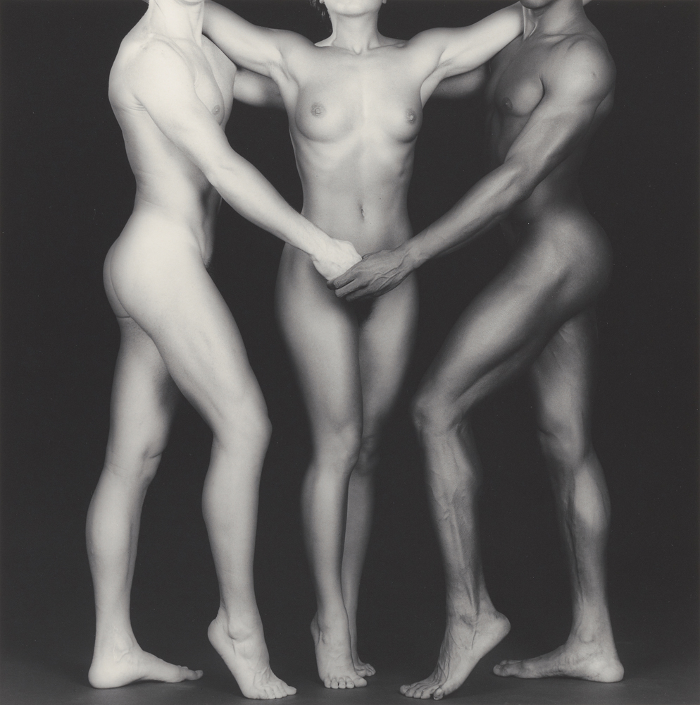 Ken and Lydia and Tyler; Robert Mapplethorpe (American, 1946 - 1989); New York, New York, United States; negative 1985; print 2004; Gelatin silver print; 38.4 x 38.2 cm (15 1/8 x 15 1/16 in.); 2011.7.19