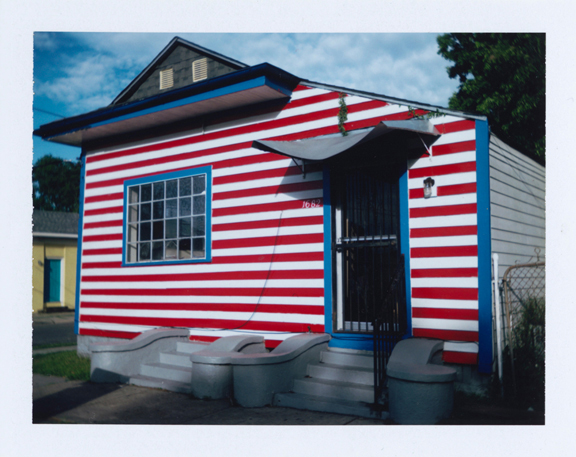 RED, WHITE, BLUE HOUSE, LA