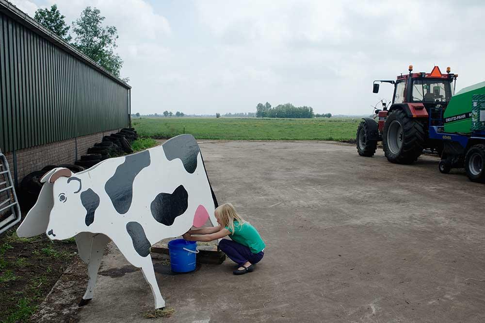 Open Door Day. De Beekhoeve, June 2010, from the book The Other Farm