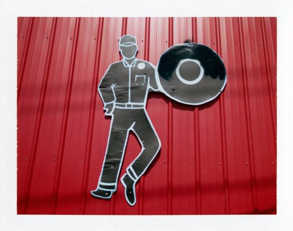 Tire Shop Man, LA