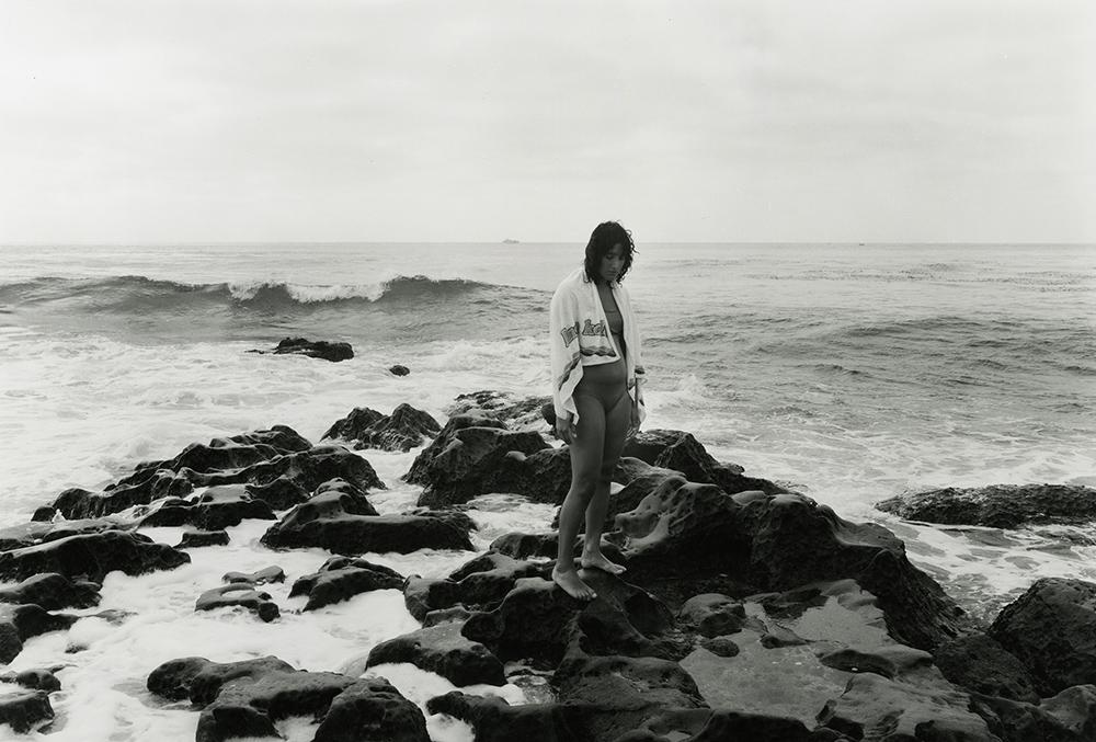 Duncan McCosker, La Jolla Cove, 1993,  gelatin silver print, 20 x 24 inches