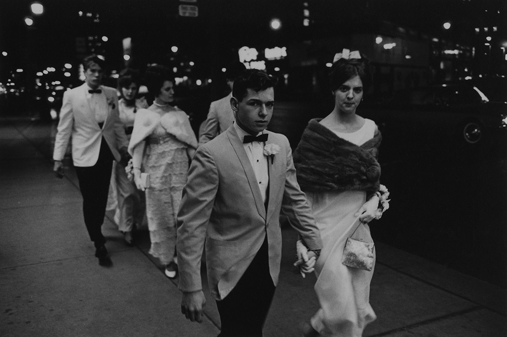 Enrico Natali, High School Prom, Detroit, 1968, vintage gelatin silver print, 4.5 x 6.5 inches