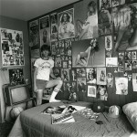 Linda Brooks, David in his Room, vintage gelatin silver print, 14 x 11 inches