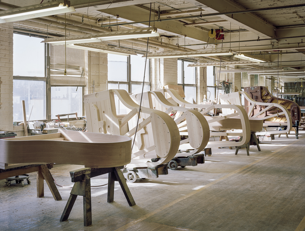 Case Department (Steinway & Sons piano factory, Astoria, NY)