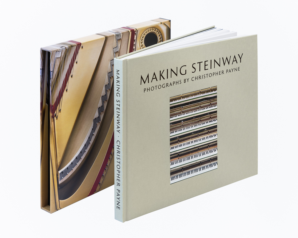 Making Steinway book and slip case