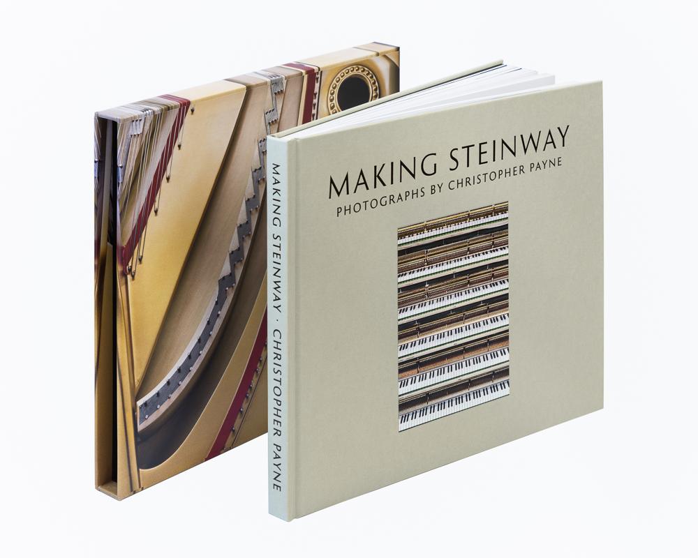 Making Steinway book and slip case