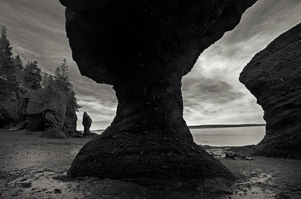 page 132-133, (88) Hopewell Rocks, Bay of Fundy, New Brunswick copy