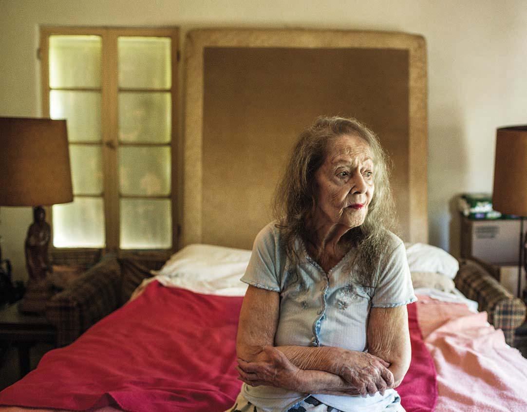 Apartment 1B Frances, Former Dance Instructor, 43 years at the Villa Bonita