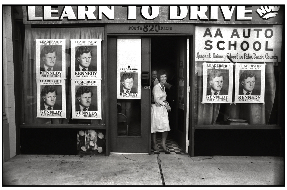 Learn to Drive, Ted Kennedy Palm Beach Presidential Campaign Office, West Palm Beach, Florida.