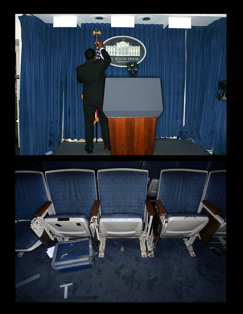 The White House Briefing Room.
