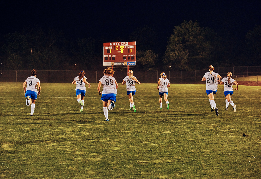 Cait Oppermann - Photographs of professional Women's Soccer in the United States