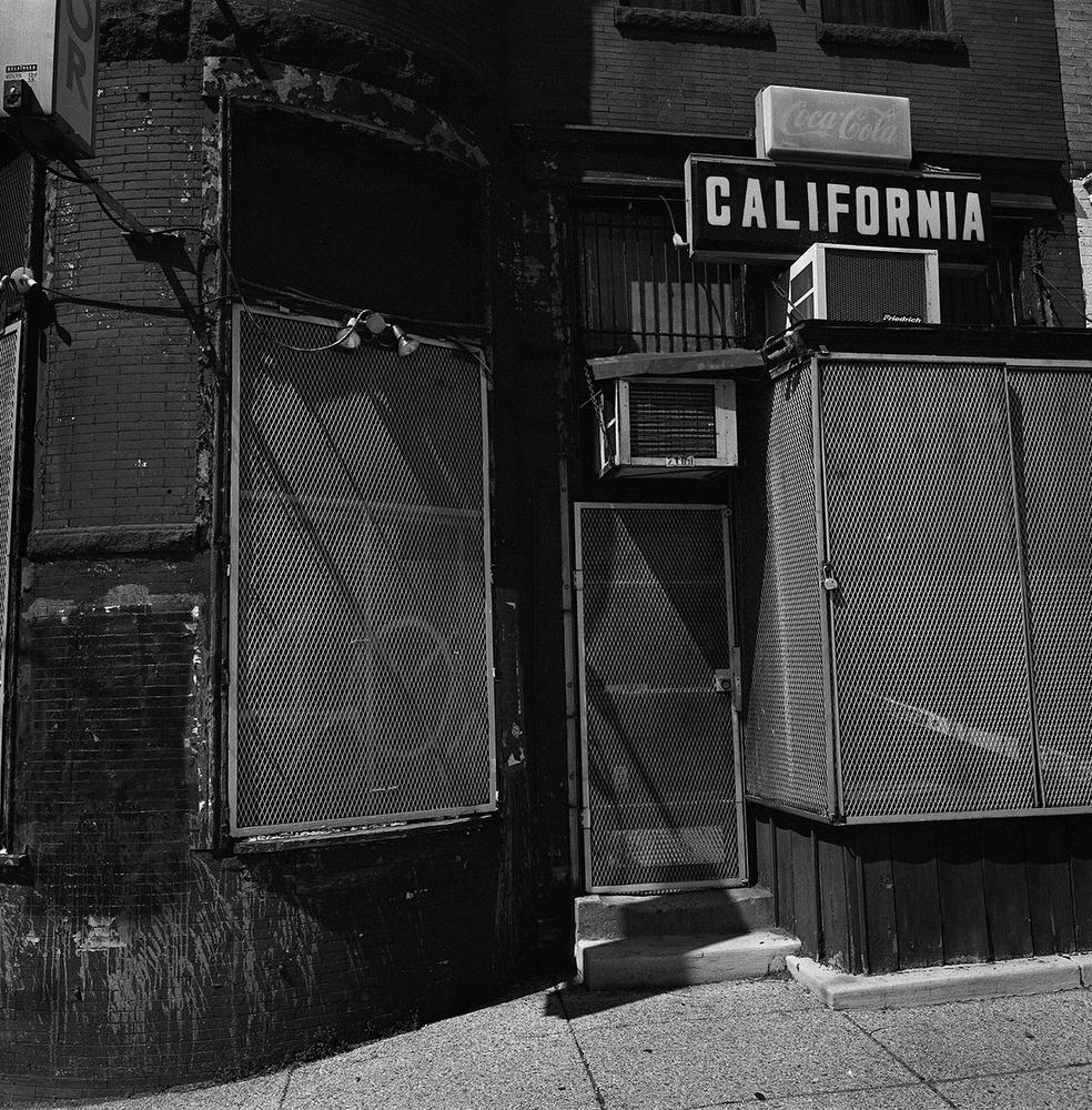 Storefront on 18th Street NW and California Ave. NW in the Adams Morgan neighbourhood, Washington DC, USA. (Credit Image: © Louie Palu/ZUMA Press)