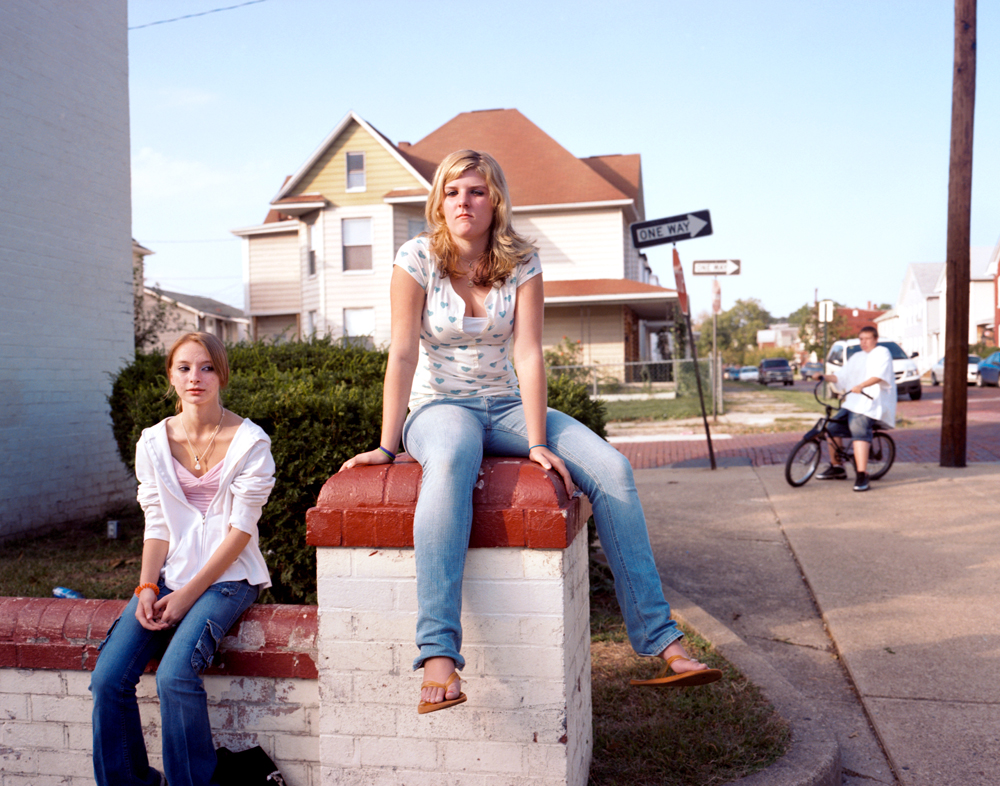 Teenagers, Cumberland, Maryland, 2007.