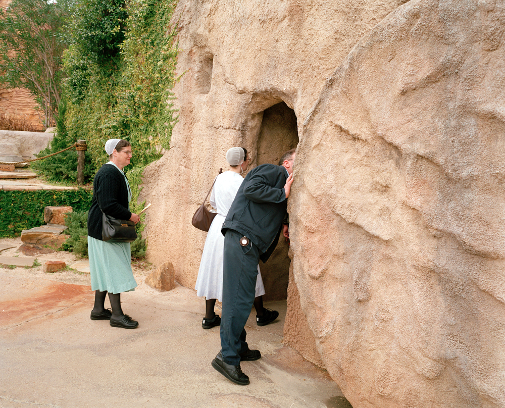 Exploring the Tomb, The HolyLand Experience, Orlando, Florida 2005