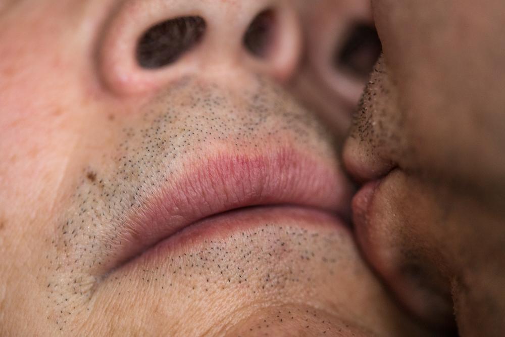 JP Terlizzi, Self Portrait - Kiss