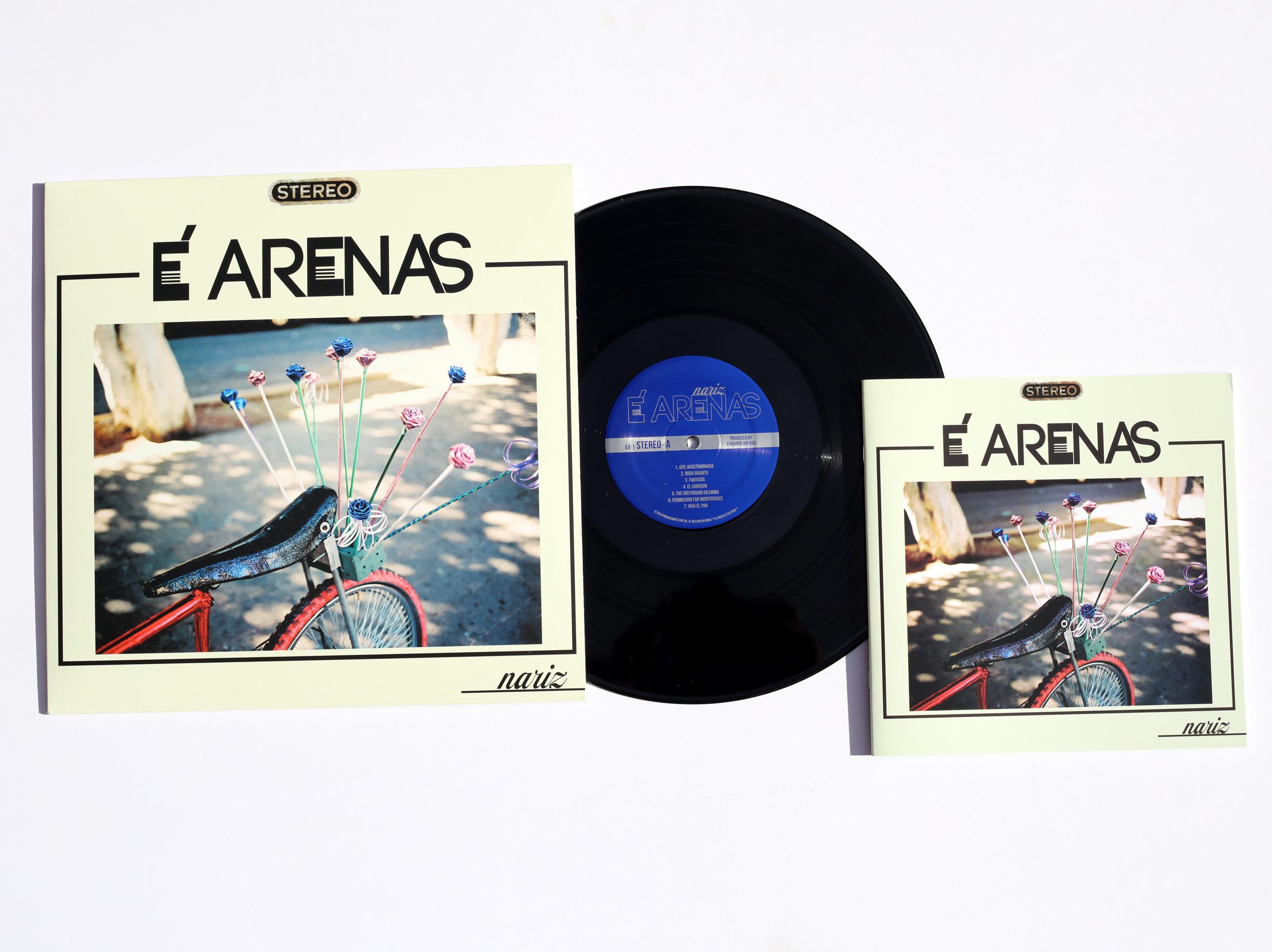 Nariz Vinyl Promo 1