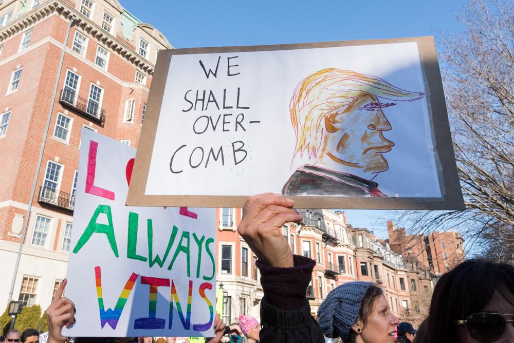 Boston, Women's March