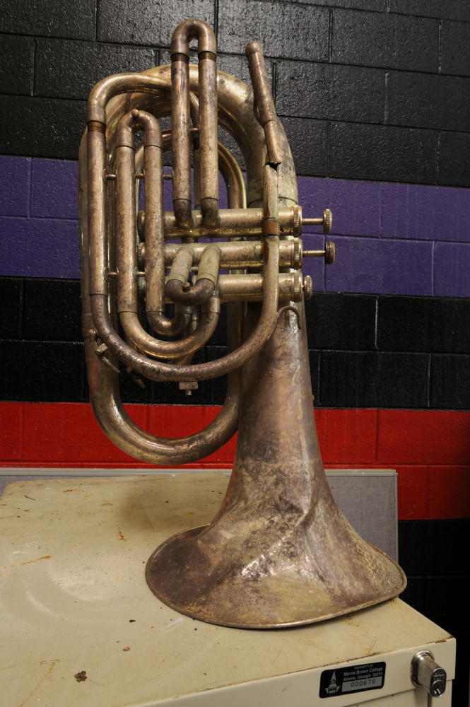 AndrewFeiler (48) Marching Band Horn - John H. Lewis Complex