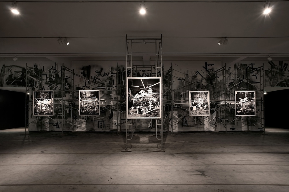 Installation shot - Future Ruins