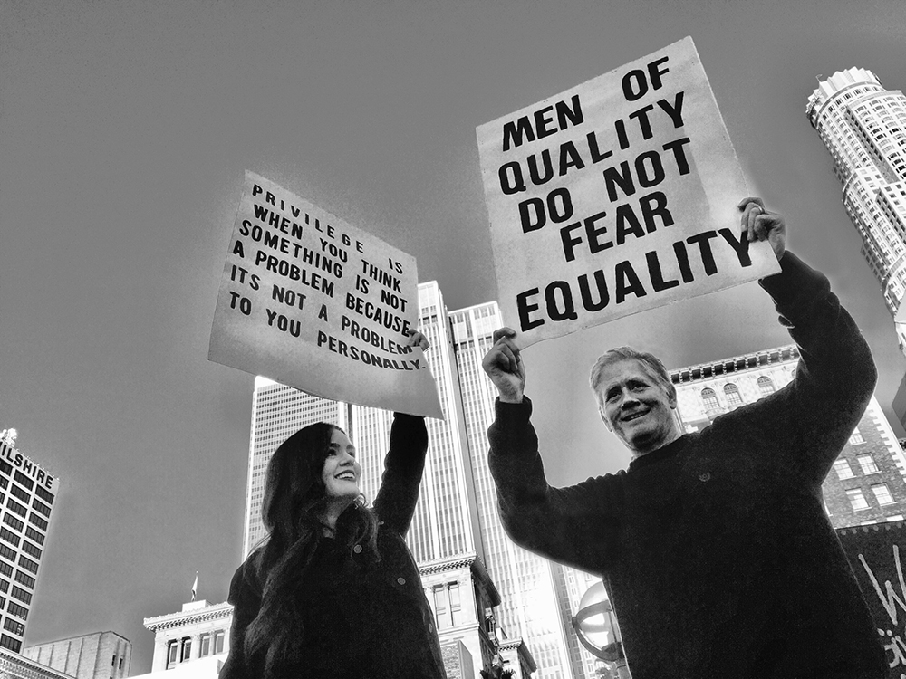 Men of Quality - Copyright Cindy Bendat 2017