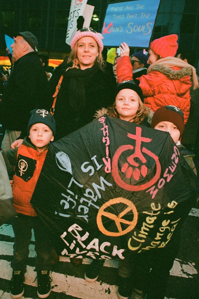Susan_Barnett_Family Protest-