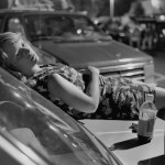 Athens, GA (girl on hood of car), 1996