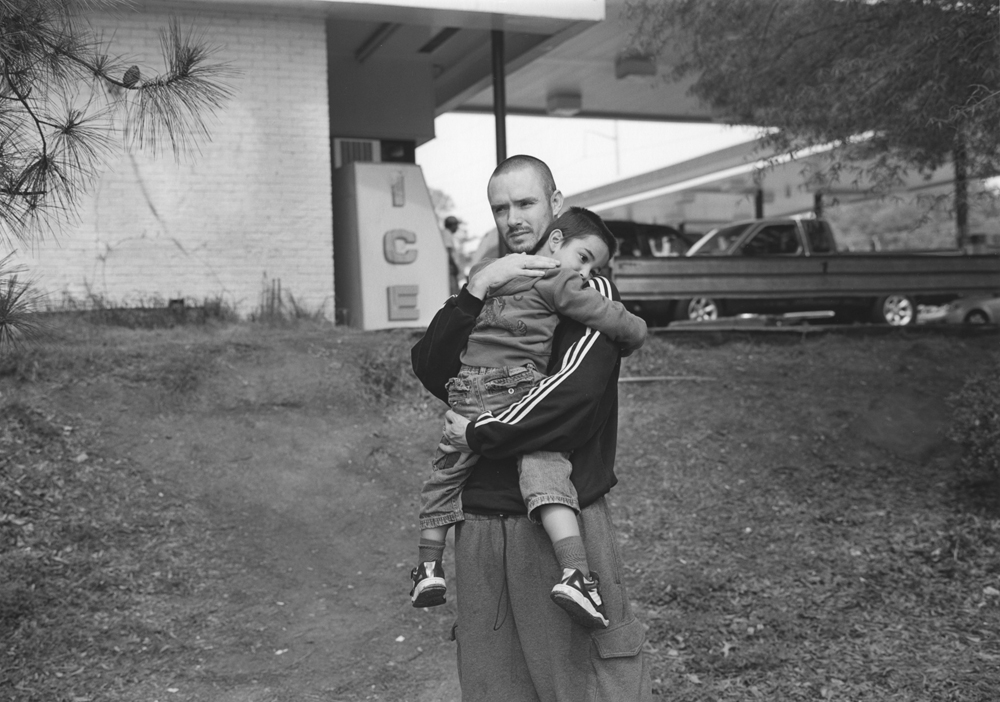 Atlanta, GA (father and son by gas station), 2007