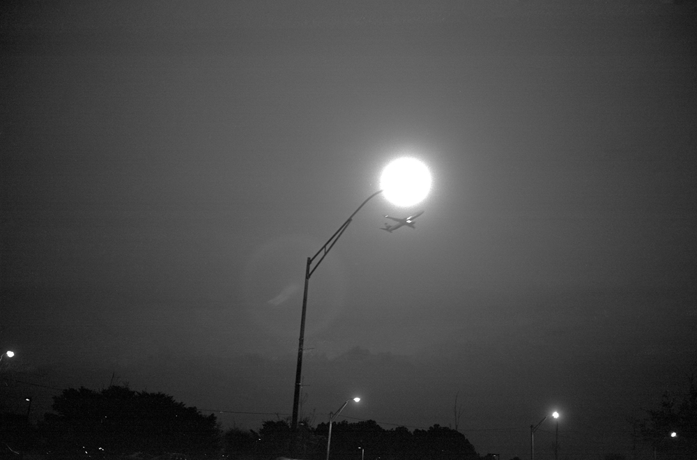 College Park, Georgia (plane and streetlight), 2016