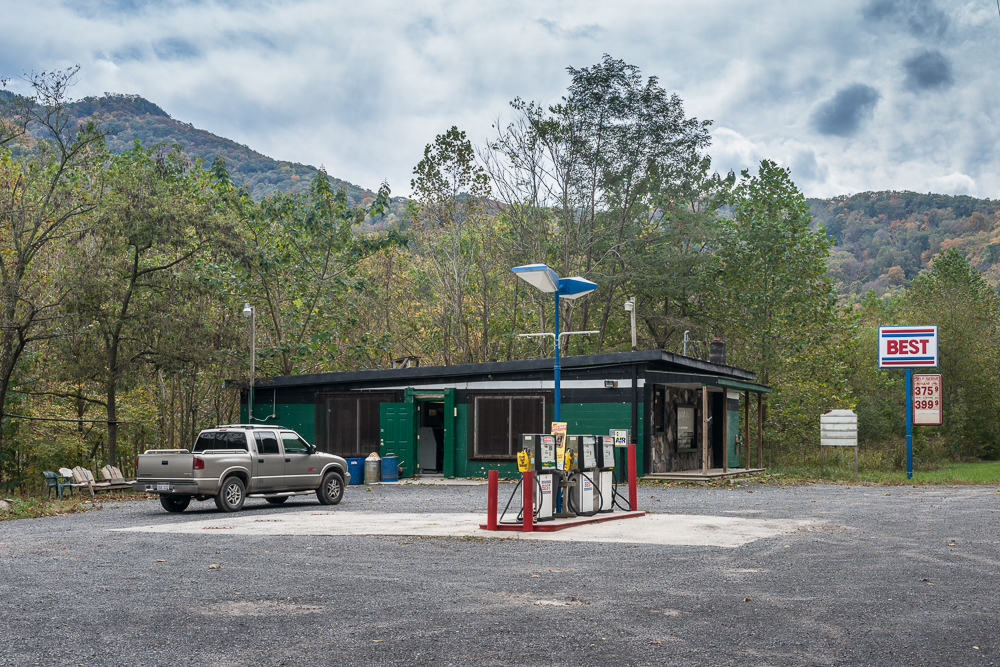 Riverside Grocery, Cabins, West Virginia, 2015