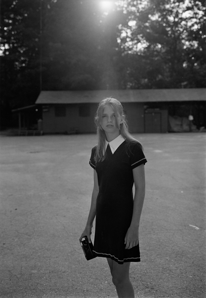 Summer Camp, Hendersonville, NC, (Girl with Camera), 1995