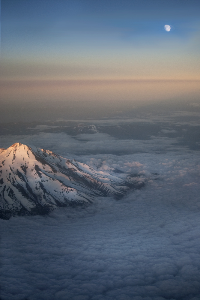 sunrise Mt. Shasta