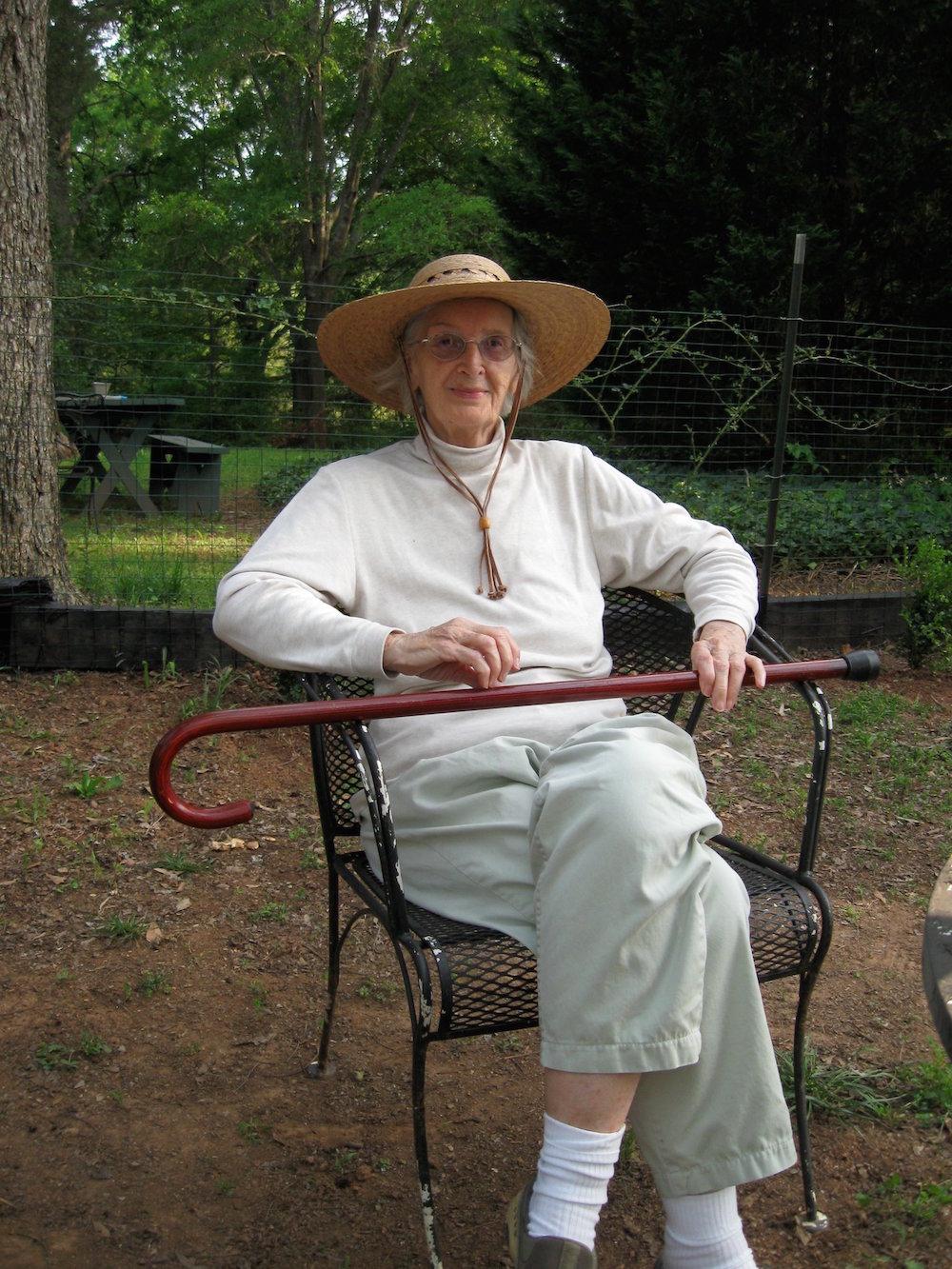 Mother at 82, April 2011 copy