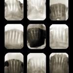 Study for X post facto, nine archival pigment prints, 2009.