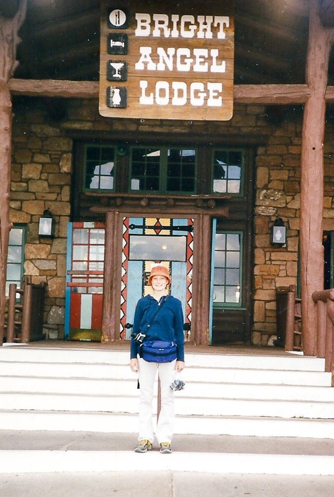 All geared up at the Grand Canyon 1999