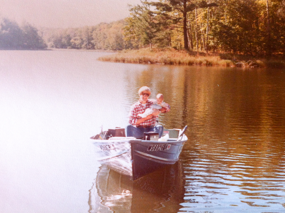 Fishing with Dad in Wisconsin 1981