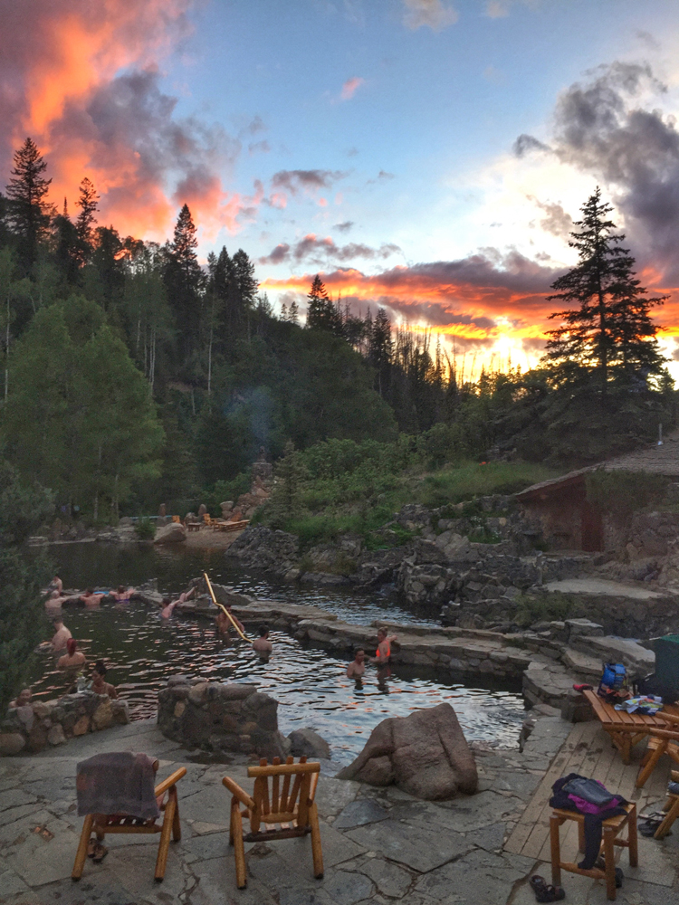 Strawberry Park Hot Springs (Perfect Day Image)