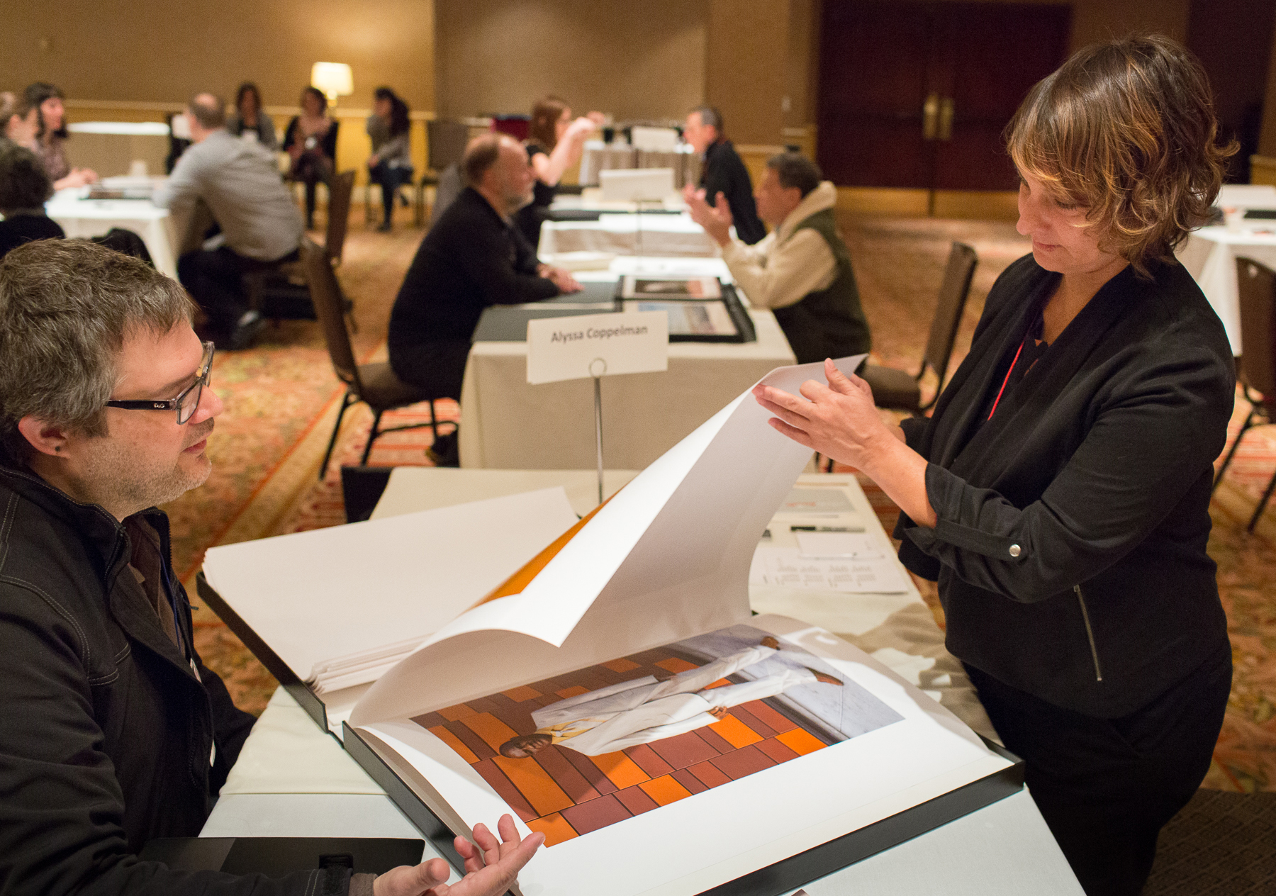 Photolucida 2015, portfolio review with Kirk Crippens