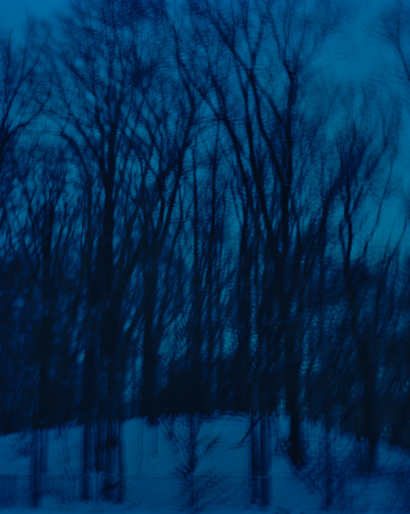 Winter Twilight, New Jersey, 2008. From the series, Encounters. Photo © Minny Lee. All rights reserved.
