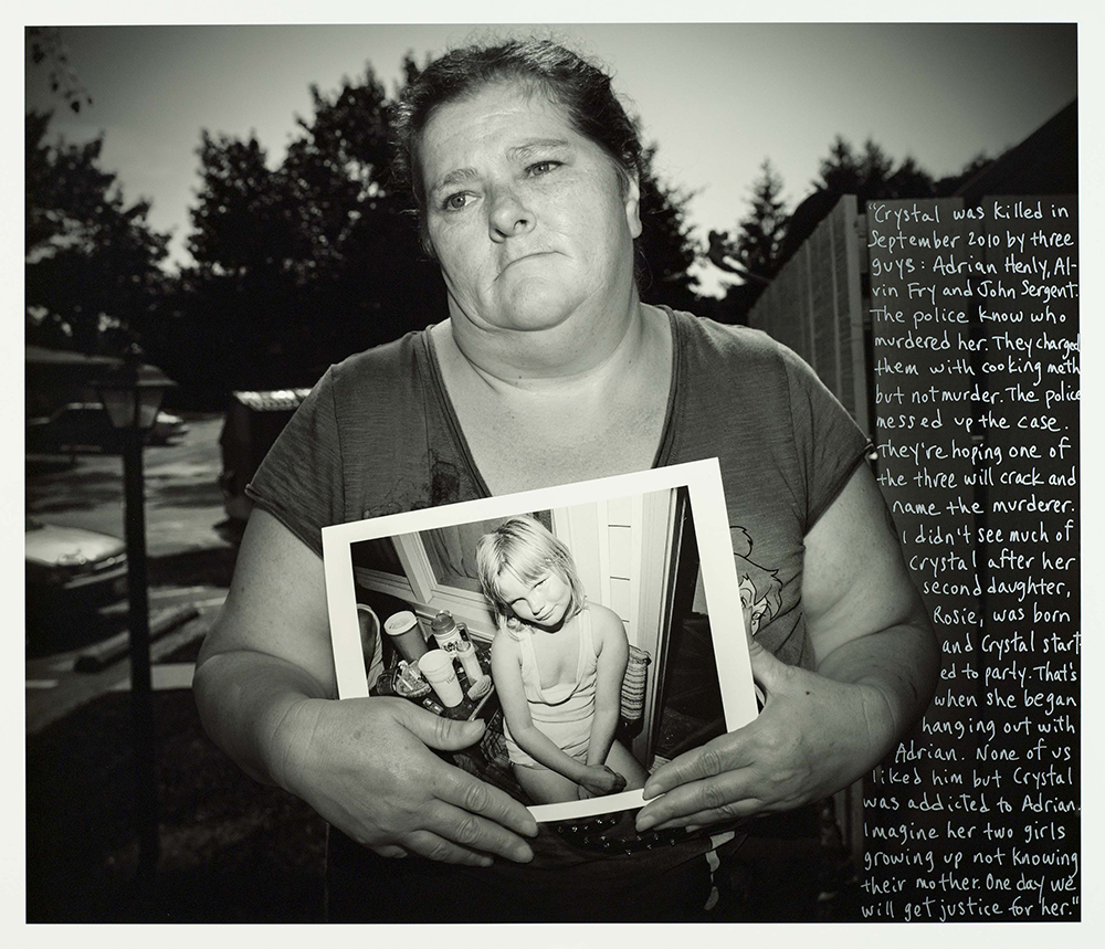 Judy After Crystal Grubb's Murder, Acadia Court, 2013