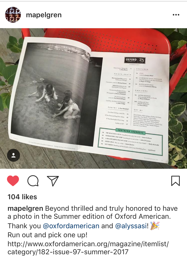 Milli Apelgren-Oxford American magazine