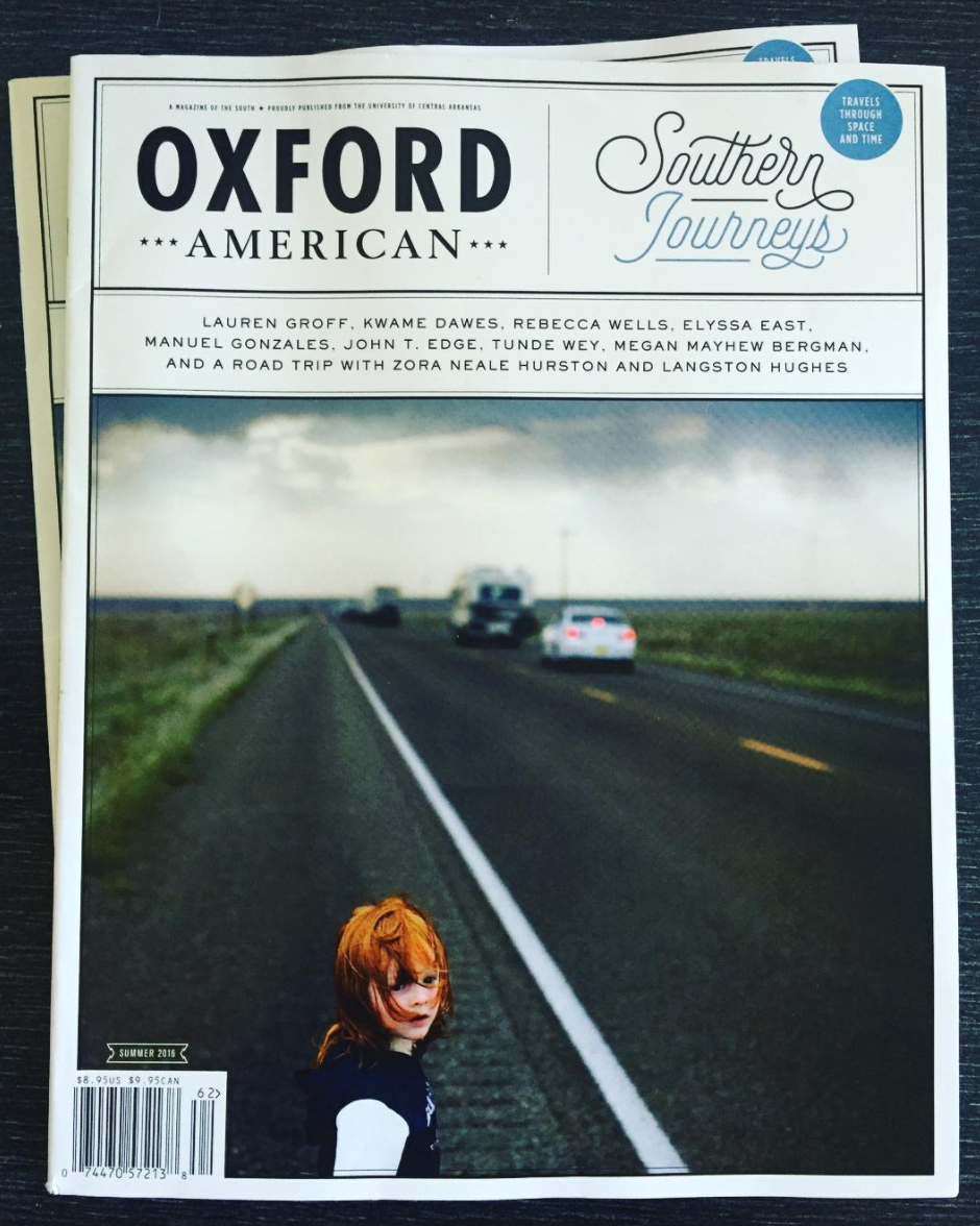 Oxford American-Summer 2016-Ben Sklar cover