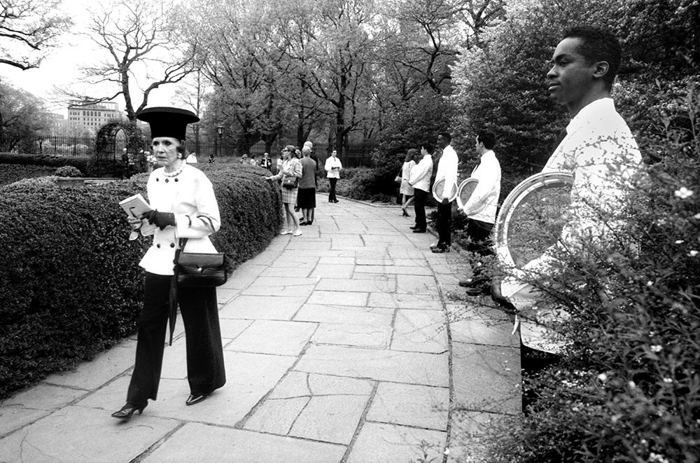 Women's Conservancy Luncheon, Conservancy Garden, 1993