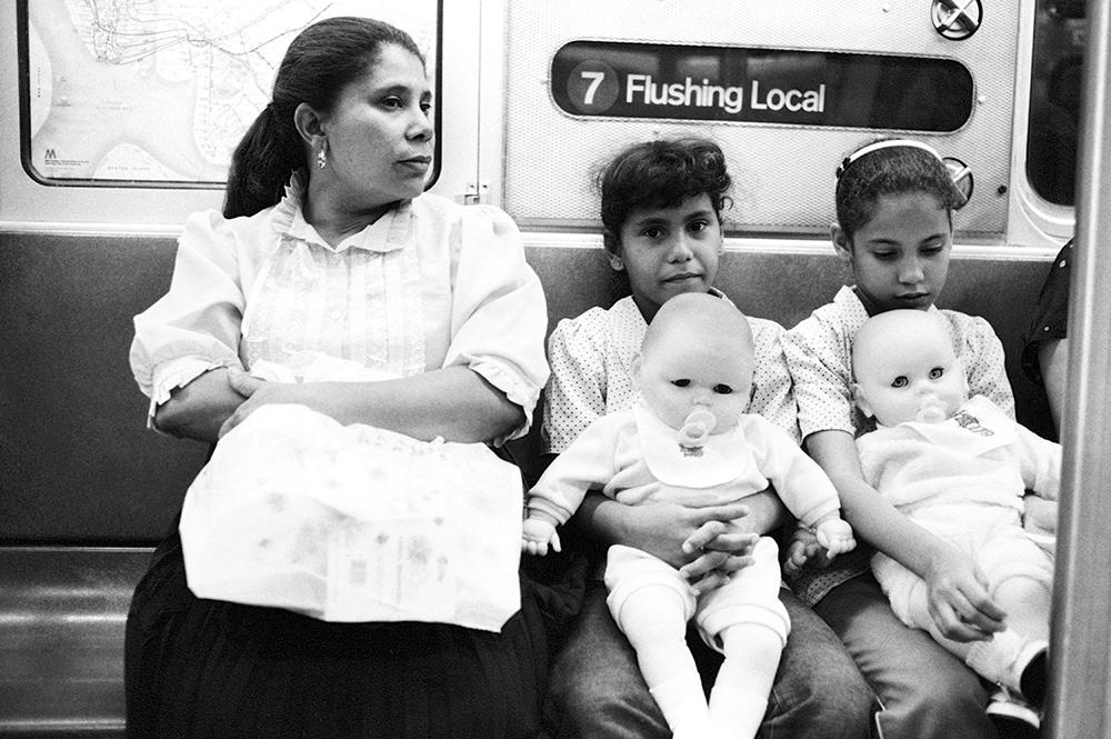 No. 7 Subway line, Queens, 1984