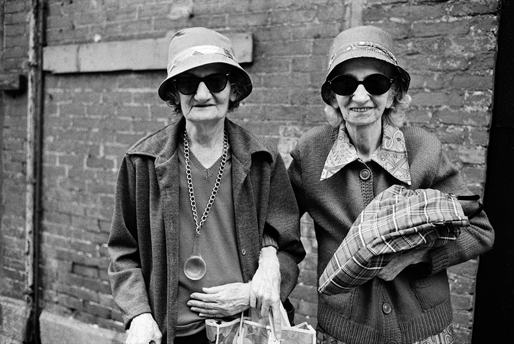Sisters, West 12th Street and Sixth Avenue, 1978