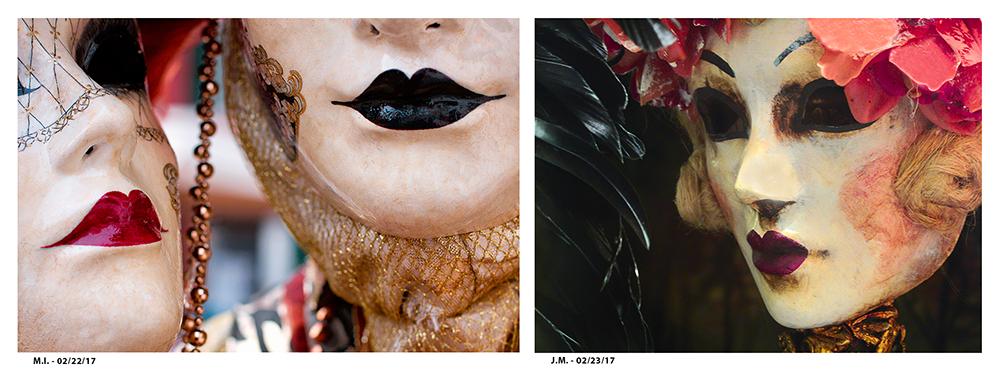 @Jim McKinniss & Melinda Isachsen - Venetian Masks II - Venice Italy