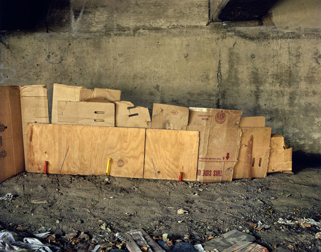 Landscapes for the Homeless #15, 1989 - LR